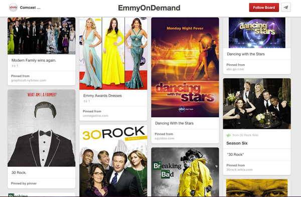 Comcast: Increase Facebook Fan Base and Awareness of Emmy 'On Demand' Viewing Options