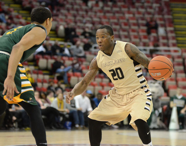Oakland University men's basketball ousted from Horizon League tournament by Wright State University - Marx Layne