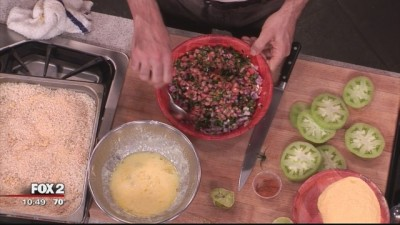 Fried Green Tomatoes with Jeremy Grandon on Fox 2