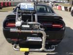 Emissions testing car