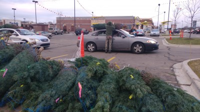 McDonald's 2017 Christmas Tree Giveaway