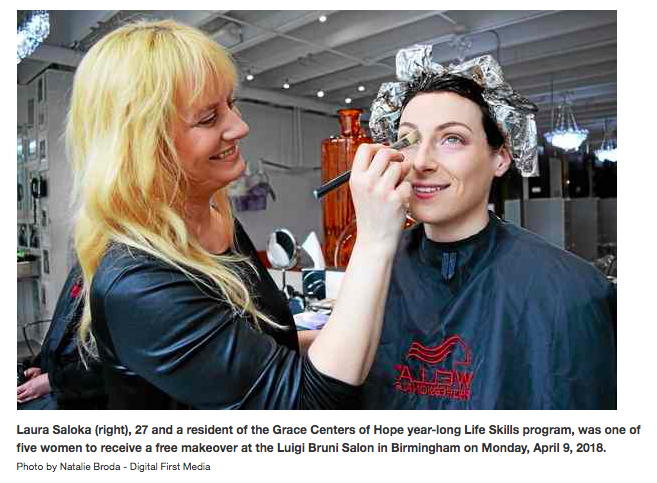 GCH One Year Life Skills Program Women Get makeover
