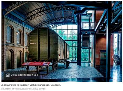 Holocaust Memorial Center Boxcar