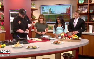 Rusty Bucket Cooking Demo on Fox 2 Detroit