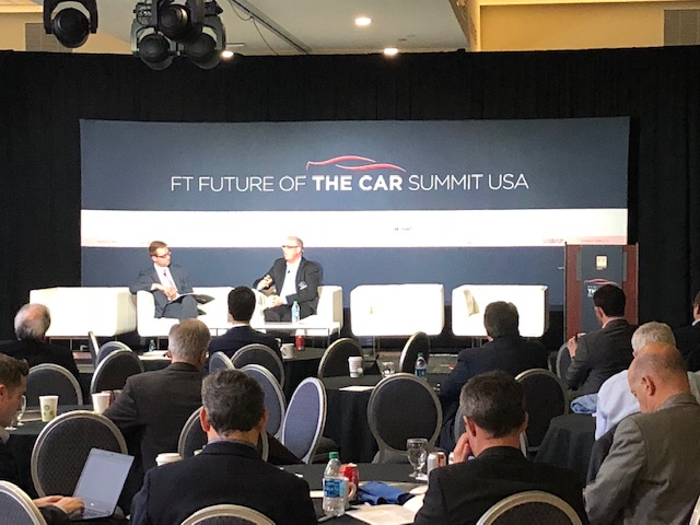 Marx Layne at the FT Car Summit