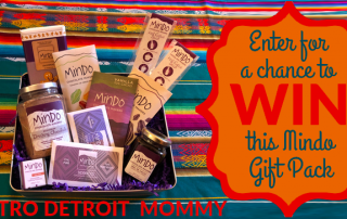 MetroDetroitMommy Mindo Chocolate Giveaway